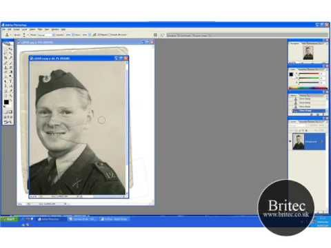 Photo Restoration of Soldier and Colorize Part 1