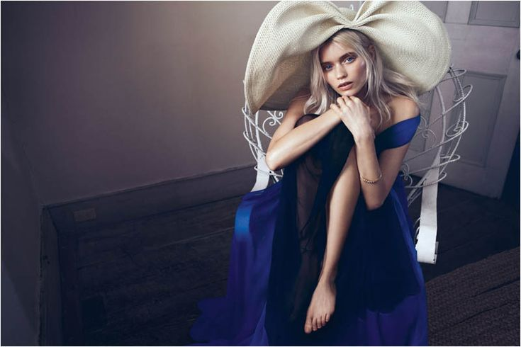 Abbey Lee Kershaw by Lachlan Bailey for Vogue China May 2012..angle