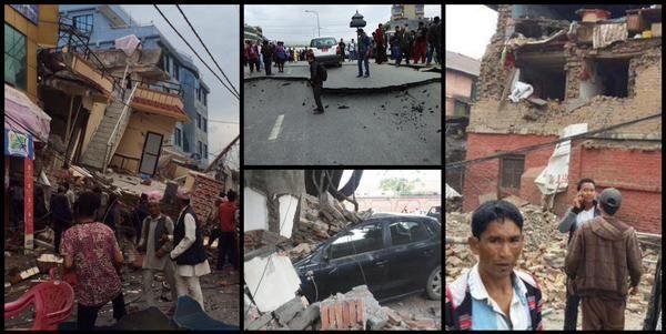 Impattanti le immagini video dal Nepal dopo il terremoto M7,9 di oggi 25 aprile 2015