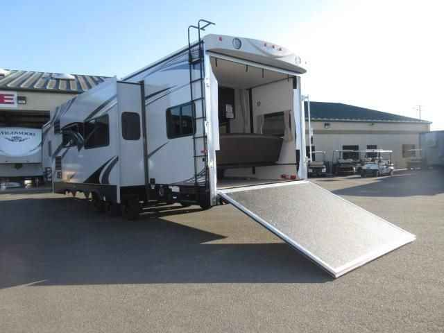 2017 New Eclipse ATTITUDE 32GSG GRAY/Two AC's / 5.5 Onan Toy Hauler in California CA.Recreational Vehicle, rv, 2017 Eclipse ATTITUDE 32GSG GRAY/Two AC's / 5.5 Onan Generator, Exterior Color: GRAY EXTERIOR, Interior Color: CUBE, Water Capacity: 100, Number of AC Units: 2, Leveling Jack: STABILIZER JACKS (4), Self-Contained: Yes, Number of Slideouts: 1, Cabinetry: PLATINUM BIRCH WOOD, The following is a list of Additional Options besides the Standard Features come with the unit are:- 2017…