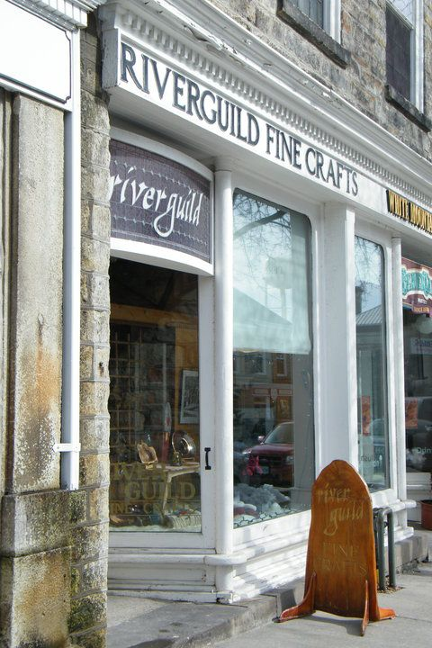 Established in 1977, Riverguild Fine Crafts in Perth is a cooperative art gallery featuring high quality, Canadian works.
