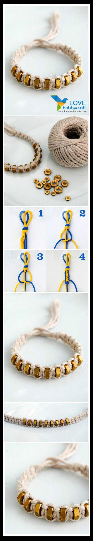 Woolen Yarn Bracelet