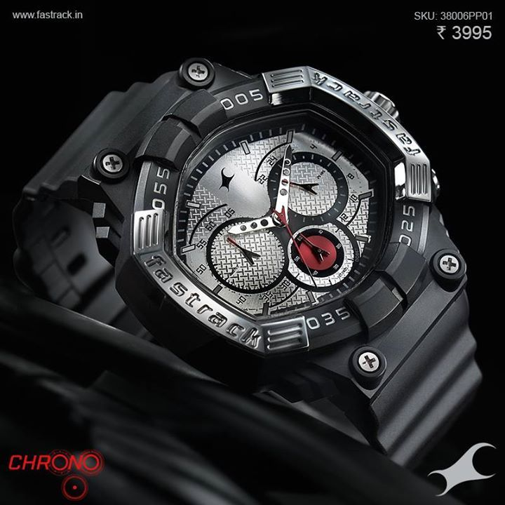 Take your time into your hands. And everywhere else. #Chrono  www.fastrack.in/chronograph/product/38006pp01