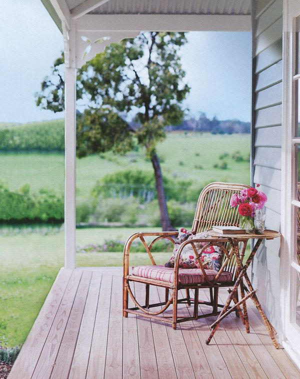 verandah with no railings