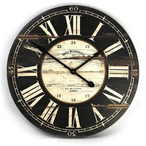 Black And White Wall Clock best 25+ large white wall clock ideas on pinterest | magnolia hgtv