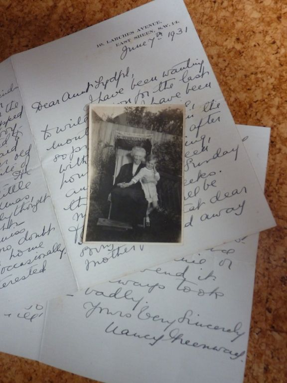 """Another day, another letter, another mystery. """"Dear Aunt Tydfil"""" this one starts and is signed by """"Nancy Greenway"""". Who? And so the hunt begins…"""