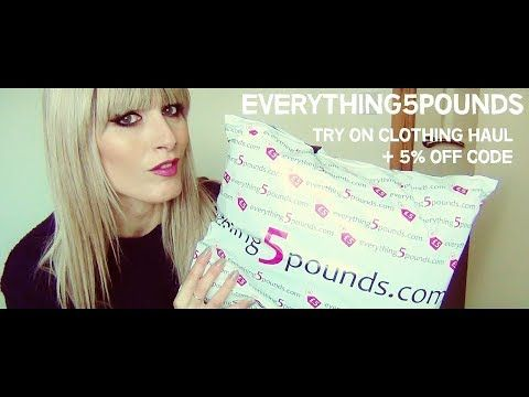 MichelaIsMyName: Everything5pounds.com Try On Clothing HAUL | MICHE...