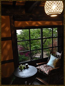 Perfect place to write a book #KyotoHouse                                                                                                                                                                                 More