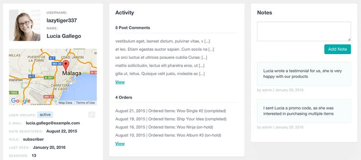 Keep record of your WordPress users activity with the Users Insights Notes: https://ift.tt/1XuVFB8 #wordpress #plugin