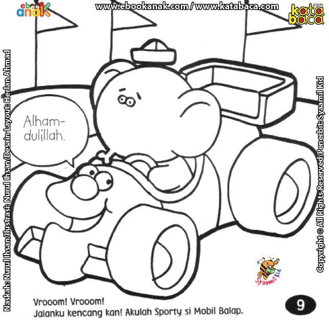 Mobil Balap Juga Harus Patuh Aturan Lalulintas Mobil Balap Buku Anak Pembalap