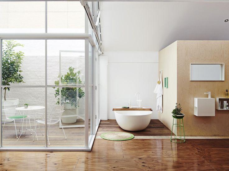 Windsor White Bathroom - Get the Look, Dulux Paints #whiteonewhite #zatarleaf  #woodenwalls