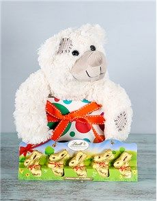 Easter - Gifts and Hampers: Eggstra special Lindt gift set !