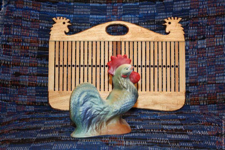 """Купить бердо для ткачества на 61 нить """"Петушок"""" - бежевый, бердо, ткачество на бердо, ткачество поясов"""