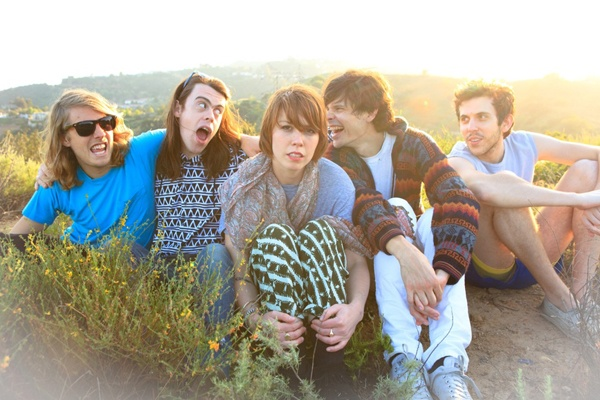 Grouplove.  I adore how they randomly met and started this wonderful band :)