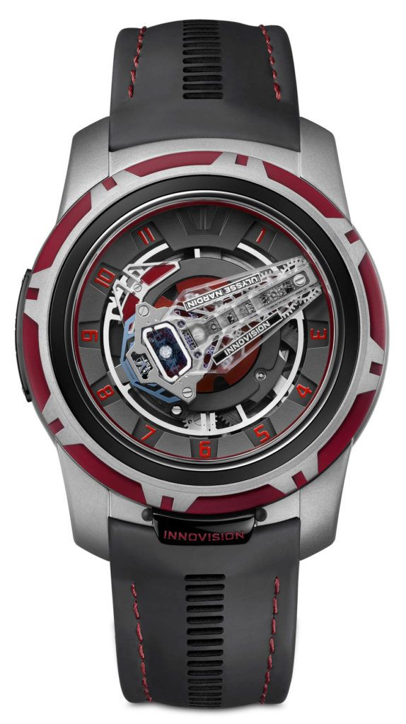 New Watch Alert: Awesome looking concept by Ulysse Nardin called InnoVision 2, taking the Freak collection and the company itself to another level and bringing us 10 new inventions. You won't believe how cool it is, until you read the article already available. Read all about it on: http://www.ablogtowatch.com/ulysse-nardin-innovision-2-watch/