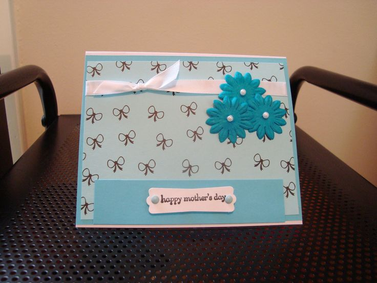 SIMPLE & FUN !!!! Mothers day cards, Happy mothers day