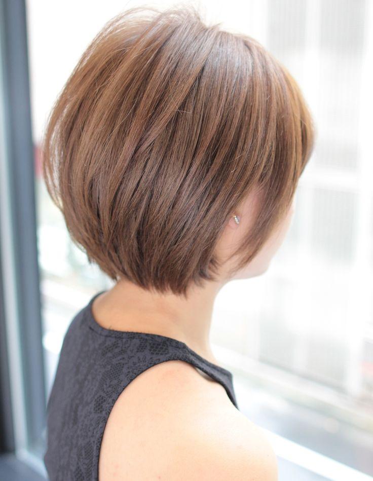 大人かわいいクリアショート(SG-339)   ヘアカタログ・髪型・ヘアスタイル AFLOAT(アフロート)表参道・銀座・名古屋の美容室・美容院