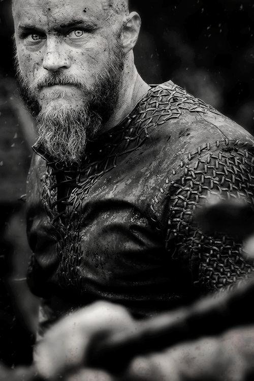 "Ragnar Lodbrok or Lothbrok was a legendary Norse ruler and hero from the Viking Age described in Old Norse poetry and sagas. All sources agree that Ragnar died in England. According to a Scandinavian saga he was captured by King Ella of Northumbria, and cast into a snake pit to die. Ragnar had four sons, and as he lay among the venomous reptiles he uttered a potent threat: ""The little pigs would grunt now if they knew how it fares with the old boar."" His sons bloodily avenged him by…"