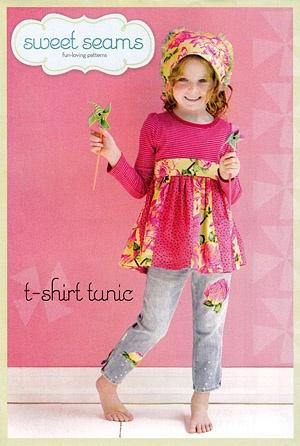 T-Shirt Tunic ~ Sweet Seams Sewing Pattern