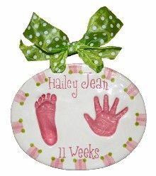 Double Impression Baby Handprint Kit