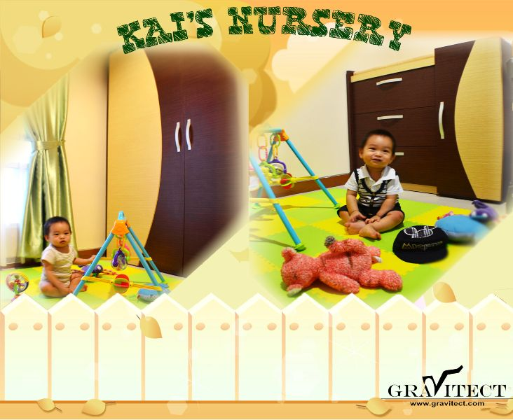 Nursery, Baby room, Baby Changing Table, Custom Furniture, Interior Photography, by Gravitect Indonesia