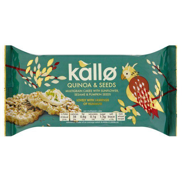 Kallo Quinoa & Seeds Multigrain Cakes