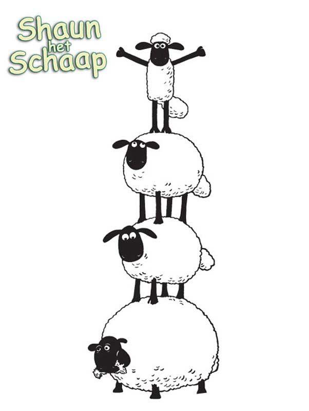 Free Shaun The Sheep Coloring Page To Download From The Gallery Shaun The Sheep Sheep Drawing Shaun The Sheep Sheep Cartoon