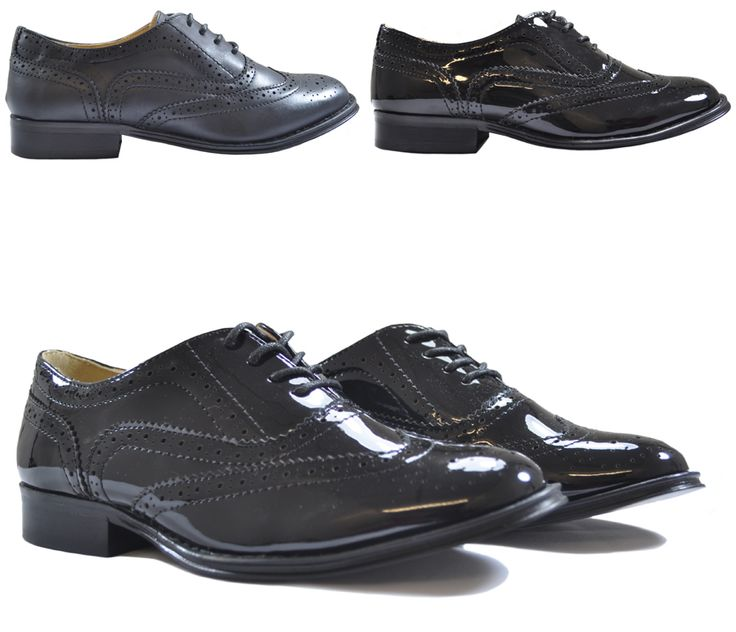 We love brogues! You probably figured that out already and we want to share that love with you.  These are the brand new Dolcis low heel styles we've just got hold of that come in black patent or black matt. Quality is great, value for money and it's just before the holidays start  Click away & add to cart - http://www.shoesdays.co.uk/collections/brogue