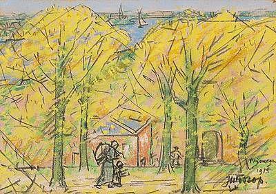 Nijmegen city - Johannes Theodoor Jan Toorop | Studio 2000