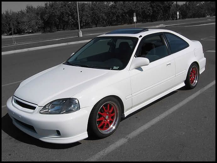 Calling all White 96-00 Civic Coupes! - Honda-Tech