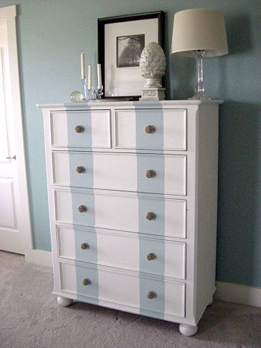 how to decorate a chest of drawers 2