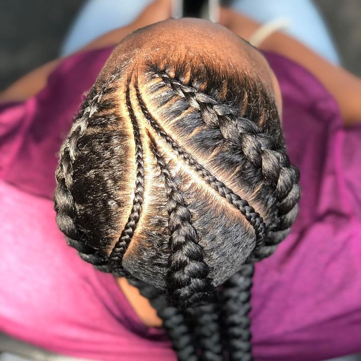 """456 Likes, 4 Comments - Lei [Yohn] (@the_hairchanic) on Instagram: """"Book 3 feed-in Braids  Link in Bio... . . . #thehairchanic #blessedhands #atlbraids #atlantabraider…"""""""