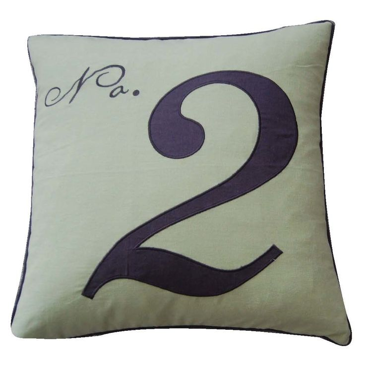 Throw Pillow With Numbers : 25+ best ideas about Number Two on Pinterest Un number, Bib tutorial and Baby bib tutorial