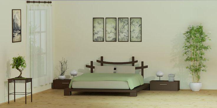 Camera da letto in stile zen n.05