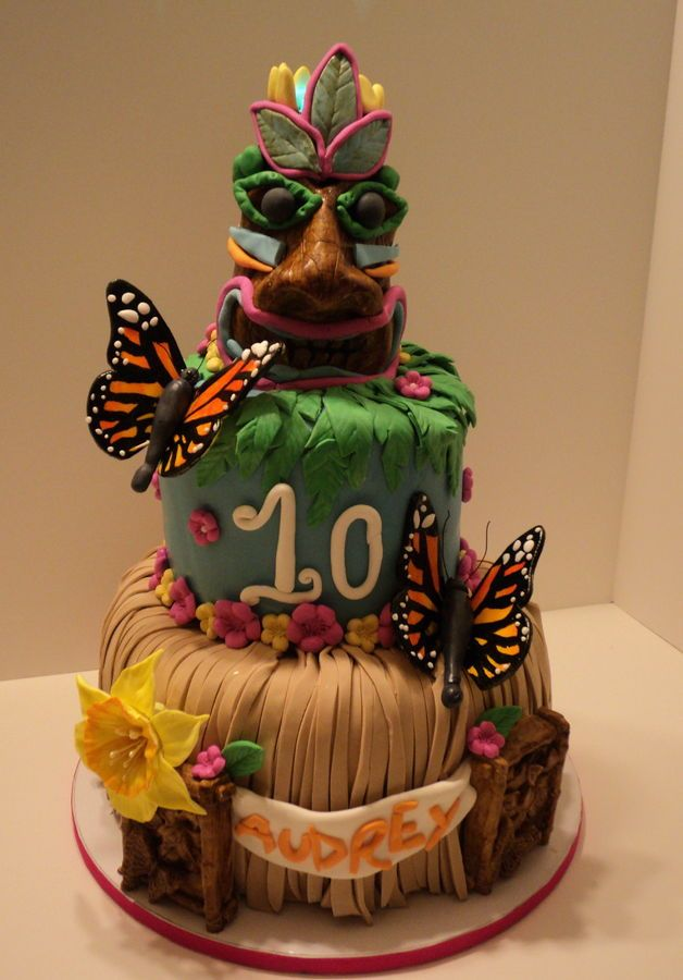 88 Best Images About Luau Cakes On Pinterest Hawaii Cake