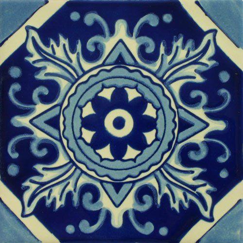 Especial Decorative Tile - Boca De Dragon – Mexican Tile Designs