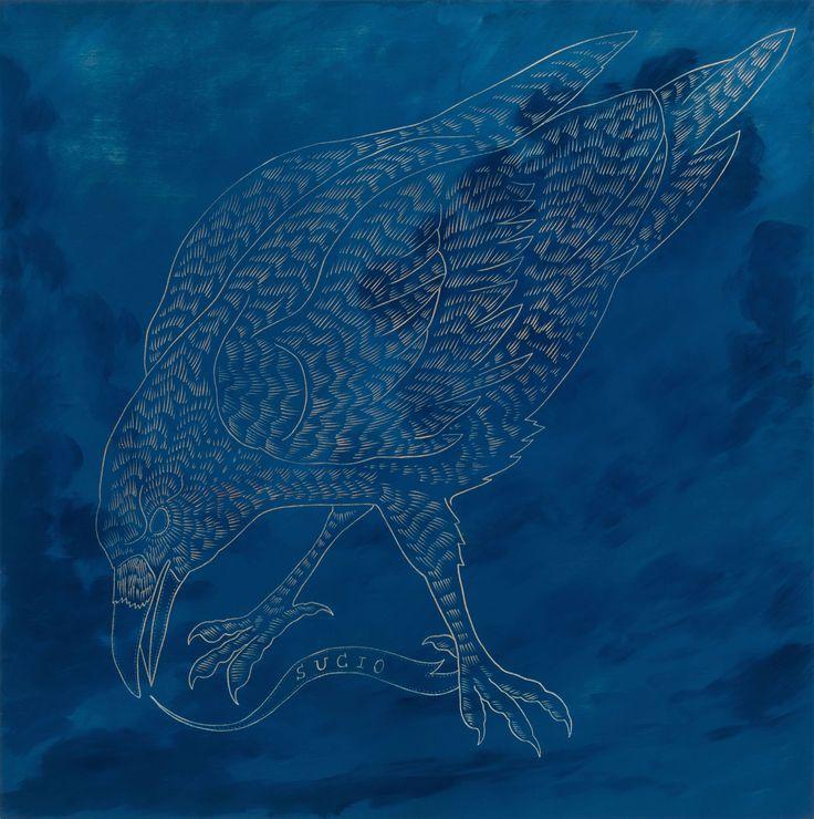 """""""Sucio"""" Artista: Ricky Armendariz, lámina de impresiónA/P, 21.5x28 cm, 2014 + PA"""