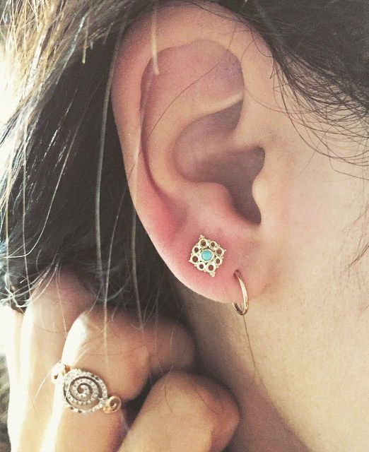 Dainty, darling piercing ideas that just might convince you