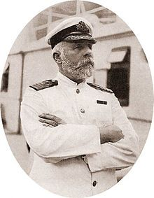 Captain Edward John Smith, the most senior of the White Star Line's captains, was transferred from Olympic to take command of Titanic.