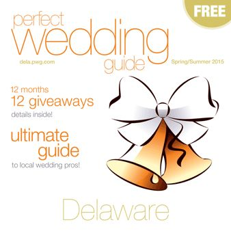 CLICK ON THE BOOK AND TAKE A LOOK Spring/Summer 2015 Delaware Perfect Wedding Guide..Find Delaware Wedding Pros right here with a tap of your fingers.