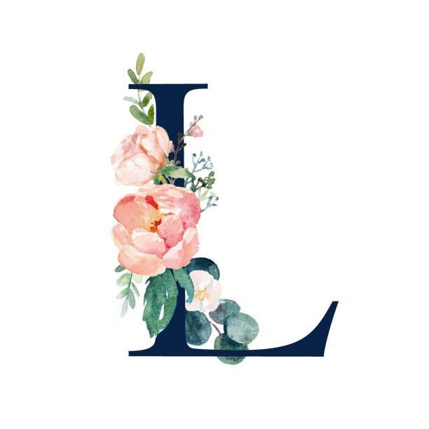 Yellow Letter L Decorated With Hand Drawn Various Flowers Vector Free Image By Rawpixel Com Sasi Art Drawings Beautiful Art Wallpaper Iphone Letter L