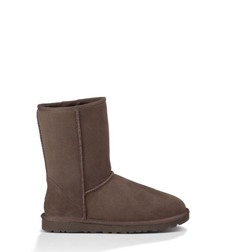 Classic Short UGGS in a dark brown color. This is probably the only other color I would get besides tan. From UGG