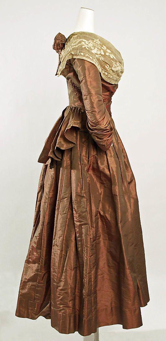 Fancy dress costume  Date: 1890s Culture: American Medium: silk