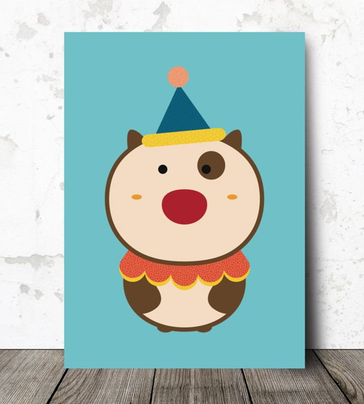Printed on 350g paper, certified Nordic Eco-label.  Size: A4 (21,0x29,7 cm)  Follow us on Facebook www.facebook.com/deskcom.net. You can buy this piece here: www.artrebels.com #artrebels #rebelkids #art