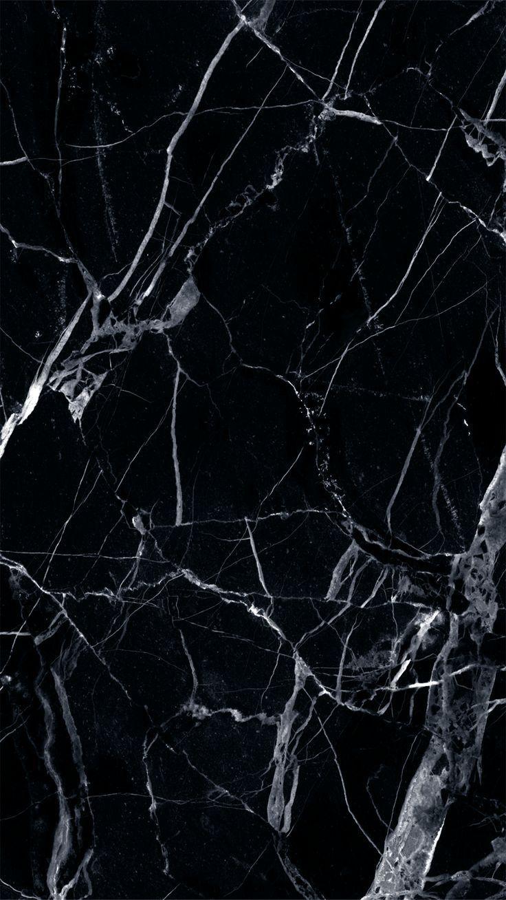 Schwarz und weißer Marmor #muster #texture #pattern #textur – Glenn Miotke