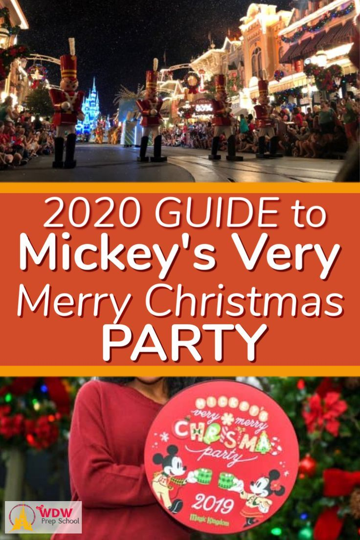 Disney Christmas Party 2020 Dates 2020 Guide to Mickey's Very Merry Christmas Party in 2020