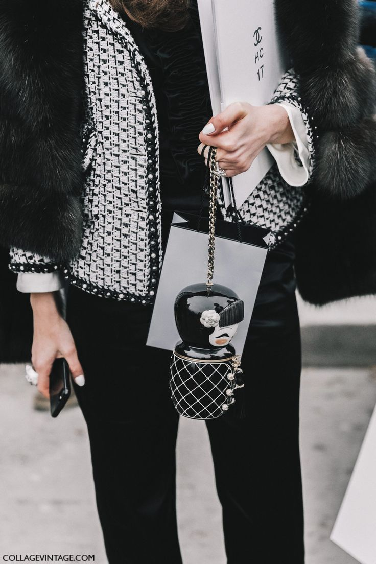 chanel street style   Search Results   Collage Vintage