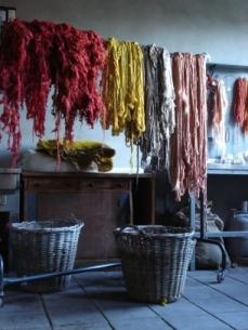 Claudy Jongstra natural dyeing of wool