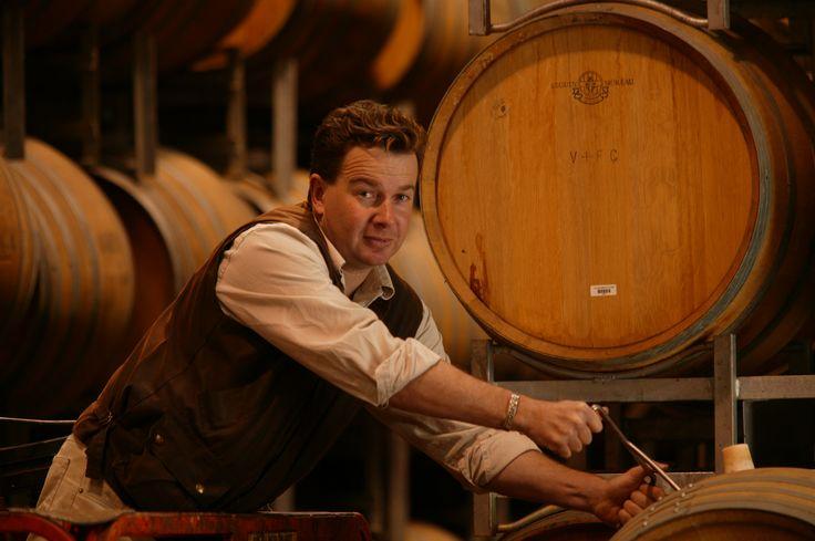 Adam Eggins, Chief Winemaker at the Wakefield Promised Land Vineyard, Clare Valley, Australia