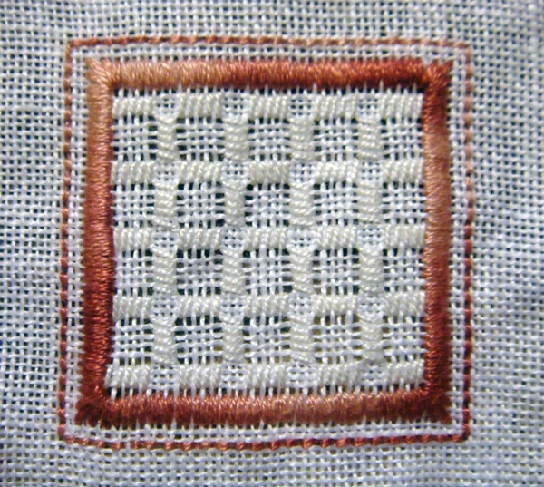 Whitework Embroidery: 1/15 Sided Biscornu - Free Patterns